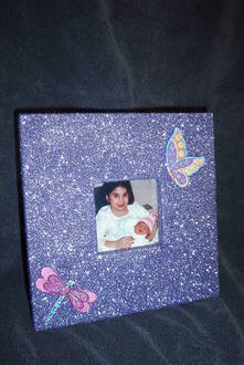 Glitter - Not just for scrapbooking anymore