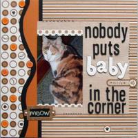 Nobody puts Baby in the corner-Daisy Bucket contest