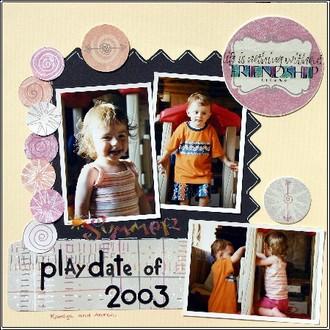 Playdate of 2003