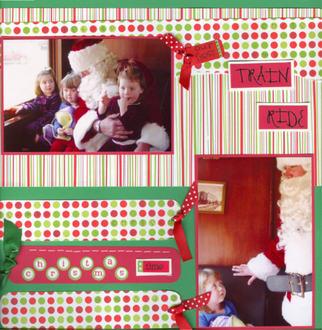 Santa Train (Santa Arrives)