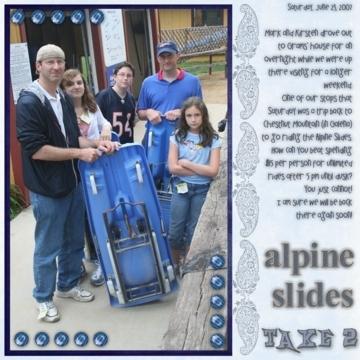 Alpine Slides Take 2