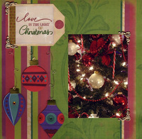 Christmas Light (As seen in Stamping, Stationary & Scrapbooking)