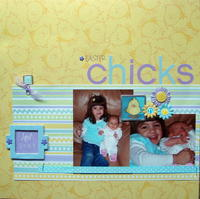 Easter Chicks-Rectangle challenge