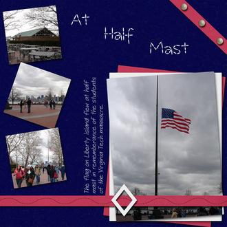 At Half Mast
