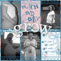 Watch My Belly Grow {Digi Reveal 7/13}