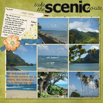 the scenic route *Digi CT reveal*