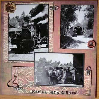 Roaring Camp RR -SS#7