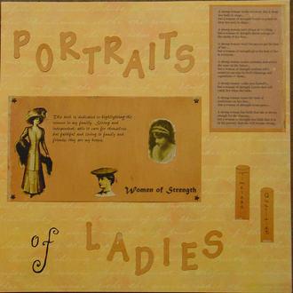 Portraits of Ladies