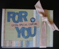 'coupons for you' box