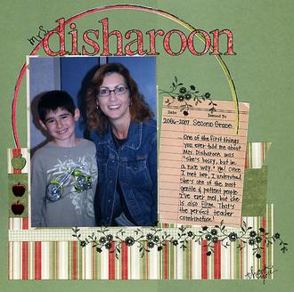 Mrs. Disharoon
