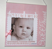 Such a Sweetheart **Guest CT Reveal - Pageframes**