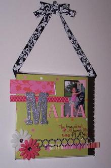 Malia **PageFrame Designs Reveal**