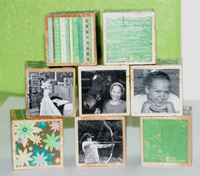 Girl Scout Photo Cubes