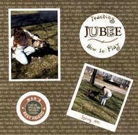 Teaching Jubee How To Play