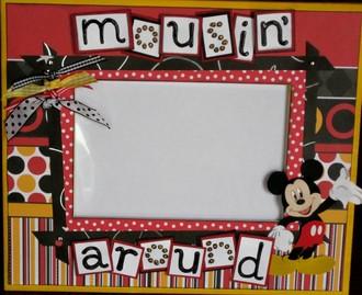 Mousin' Around - Disney Frame