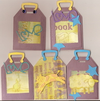 lullaby luggage tags