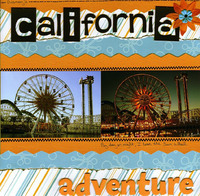 California Adventure (As seen in Stamping, Stationery & Scrapbooking 3rd Quarter