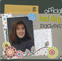 Official Bad Day Packets