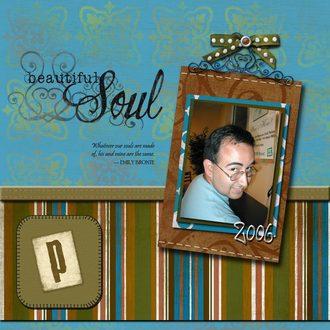 """""""Beautiful Soul"""" -- *AUG CHALLENGE - Digi Double*"""