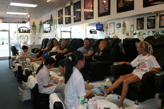 the pedicures