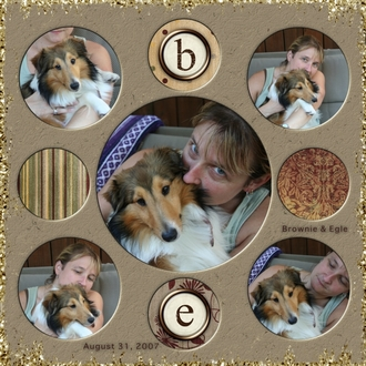 Brownie and Egle