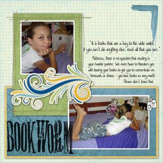 Bookworm *Digi CT PhotoSwap reveal*
