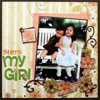 She's my Girl {Daisy Bucket Designs}