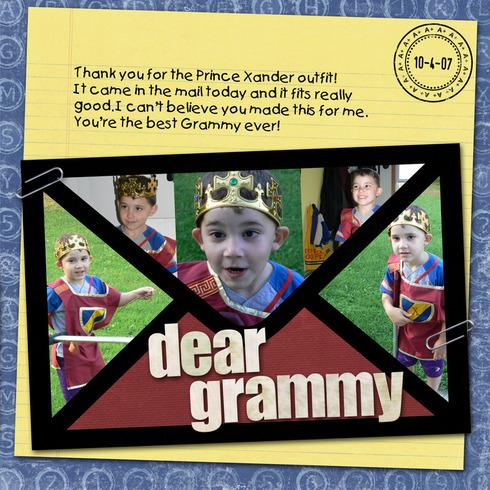 Dear Grammy **CT Reveal** by Mommybruno