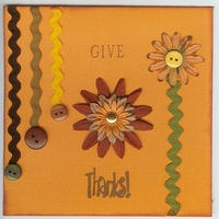 Give Thanks **OCT Card Challenge**