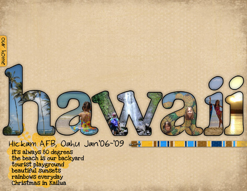 our home: Hawaii *digi CT reveal* by MamaK321