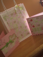 Baby Girl Album Gift Set