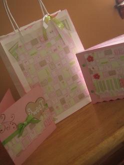 Baby Girl Album Gift Set