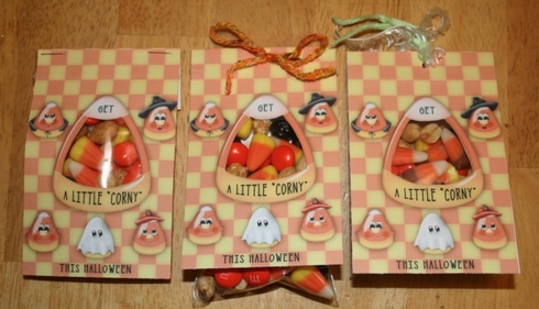 Candy Corn Treat Bags - small