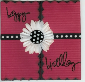 HS Birthday Card