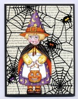Halloween card Collection #1