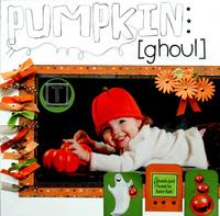 **Halloween Reveal** Pumpkin Ghoul