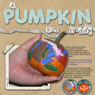 A Pumpkin for Daddy