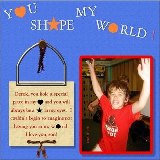 Derek - You Shape My World