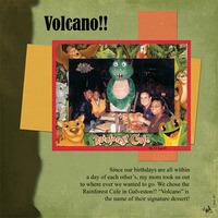 Volcano!!  **DSD Challenge #7 - No PP**