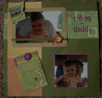 Riding With Daddy