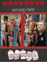Eat. Sleep. Cheer.