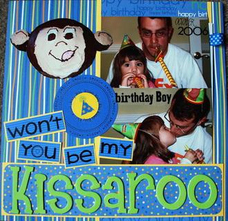 Won't You Be My Kissaroo- Nov. Theme Challenge
