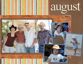 August 2008 calendar page