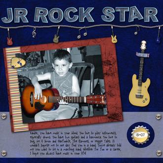 Jr Rock Star {CT Reveal}