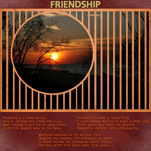 Friendship Poem (2nd look)