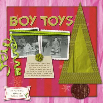 Boy Toys **Challenge #4**