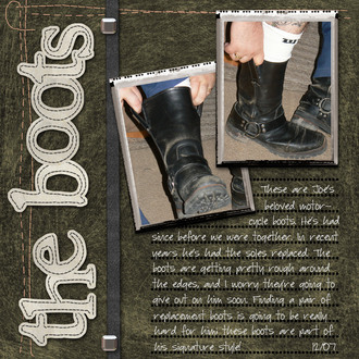 The Boots **Challenge #6**