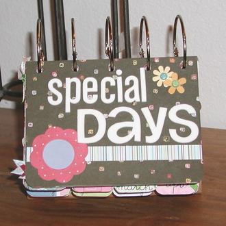 Special days desk album