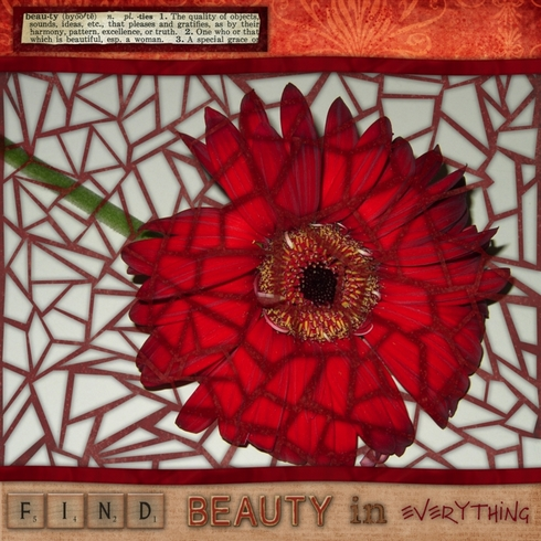 Find Beauty (all mosaic)