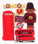 London  Stickers - Jolee's Boutique